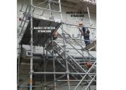 alquiler y venta de escalera de acceso provisional