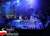 Alquiler de equipo de sonido y dj para eventos