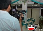 Servicio de fotografía y video – eventos