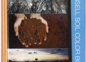 libro de colores munsell para suelos, para plantas