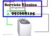 991668105 lavadoras secadoras frigidaire servicio