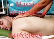 Masajes terapeuticos desde 30 soles