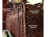 puntales metalicos importados galvanizados
