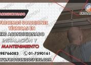 Los autorizados de aire acondicionado!! 998766083