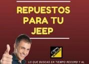Repuestos originales de jeep por importacion