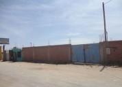 Terreno industrial peruarbo 1 600 m2