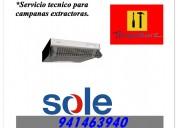 941463940 campanas extractoras sole reparacion