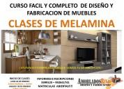 CLASES DE MELAMINA - INICIOS MES DE MARZO 2019