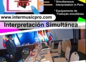 Perú traducción equipos cel. 997163010