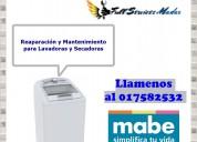 017582532 secadoras lavadoras mabe servicio