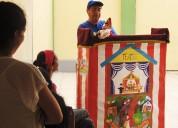 Fiestas infantiles, títeres, cuenta cuentos, show