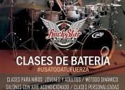 Clases de batería profesional curso de verano
