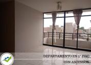 Alquiler departamento 5to piso - piura