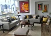 Venta dpto miraflores 159 m², 3 dorm, 2 estac