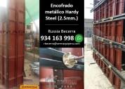 alquiler de encofrado metÁlico - hardy steel