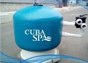 Filtro de arena de 40 para piscina glong
