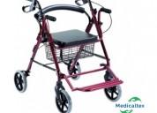 Andador ortopédico 4 ruedas – rollator 2en1