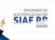 Diplomado de alta especializaciÓn siaf rp