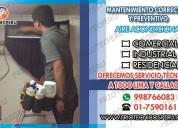 instalacion de aire acondicionado splip lima