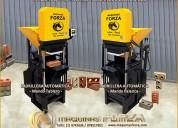 MÁquinas automaticas ladrillo ecologico 1 y 2 ladr
