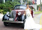Carcochitas y autos para matrimonio