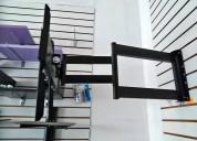 Rack tv giratorio de 60 a 75 pulgadas,super seguro
