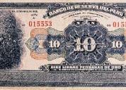 Compro billetes antiguos del perú