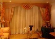 lavado de cortinas a domicilio, lavanderia de cort