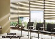 lavado de cortinas roller (screen / black out / du