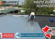 Membra asfaltica aluminizada de 3mm por rollo tel: