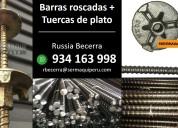 VENTA DE ESPÁRRAGOS Y TUERCAS DE LOSA