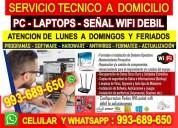 Tecnico de redes wifi,computradoras,laptops,configuracion routers,repetidores,a domicilio