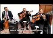 Grupo criollo fiesta  hora s/.350 rpc 997302552