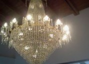 Restauración especializada de lamparas   en surco