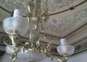 Restauración y mantenimiento de lámparas en surco