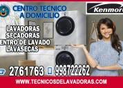 Tecnicos de lavadoras kenmore