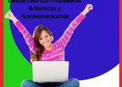 Clases de inglés online con profesores británicos