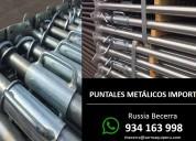 puntales metálicos nuevos galvanizados