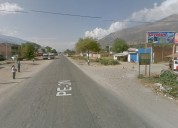 Venta de terreno área 18,000m2- andabamba-huánuco
