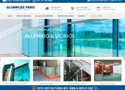 Alumpex -vidrios y aluminios -en villa el salvador