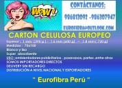 CartÓn celulosa - eurofibra
