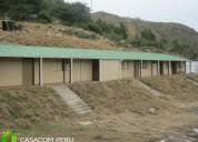 Campamentos prefabricados de madera para oficinas