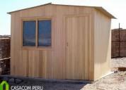 Dormitorios de madera machihembrado, somos casa