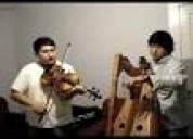 Musica de folklor con violin arpa y cantante hor s/.450.00 rpc 997302552