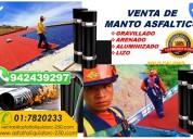 VENTAS DE MEMBRANA ASFALTICA ALUMINIZADA