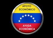 Brindo ayuda económica a venezolana