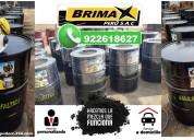 Emulsion asfaltica modificada - brimax peru.