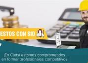 Curso de especialización en costos y presupuestos