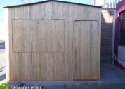 Kioscos de madera para ventas internas o colegios