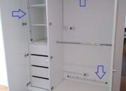 Barras eléctricas deshumedecedoras closet armario